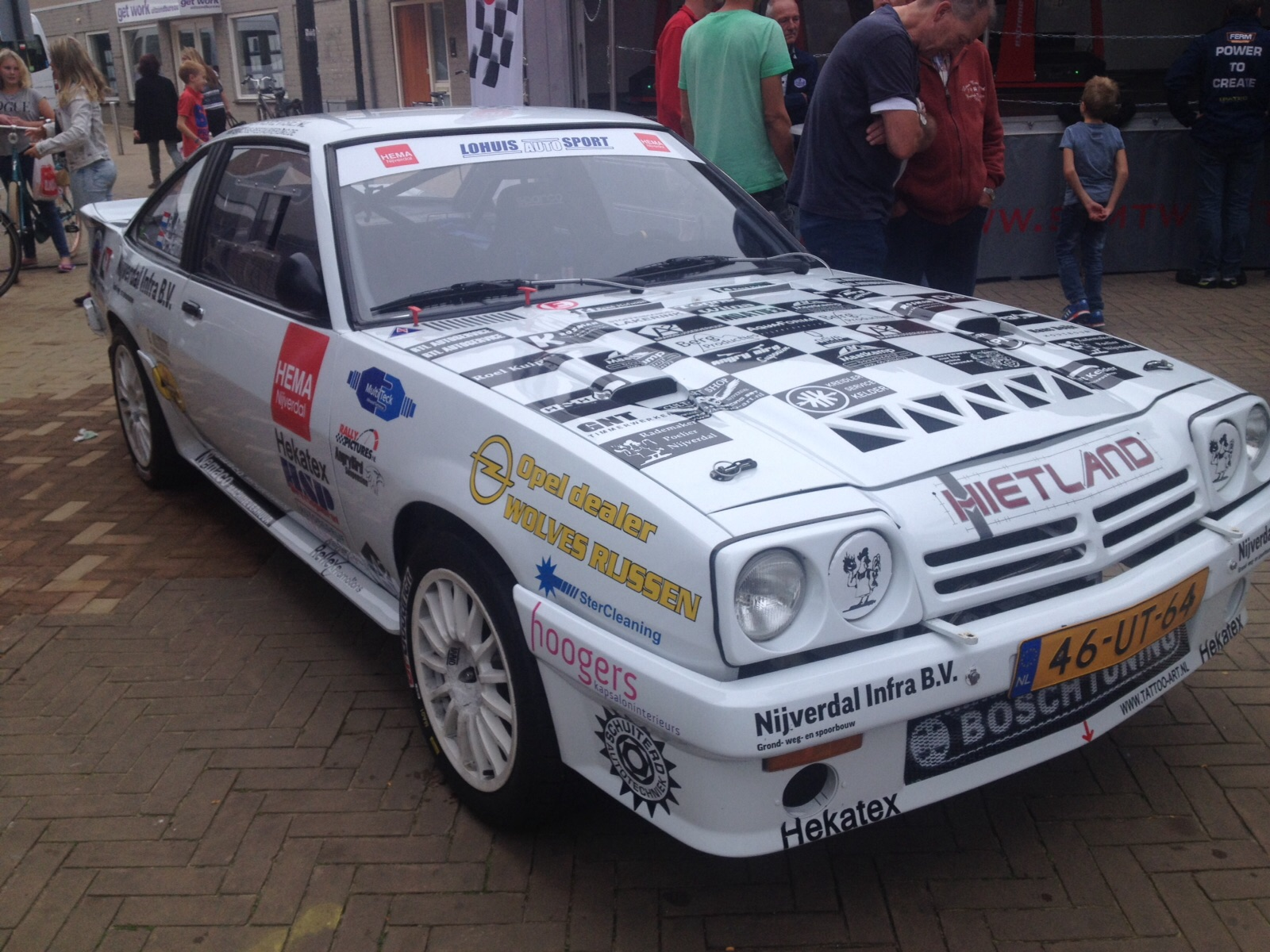 Sponsoring Rallyteam Altena Aaltink