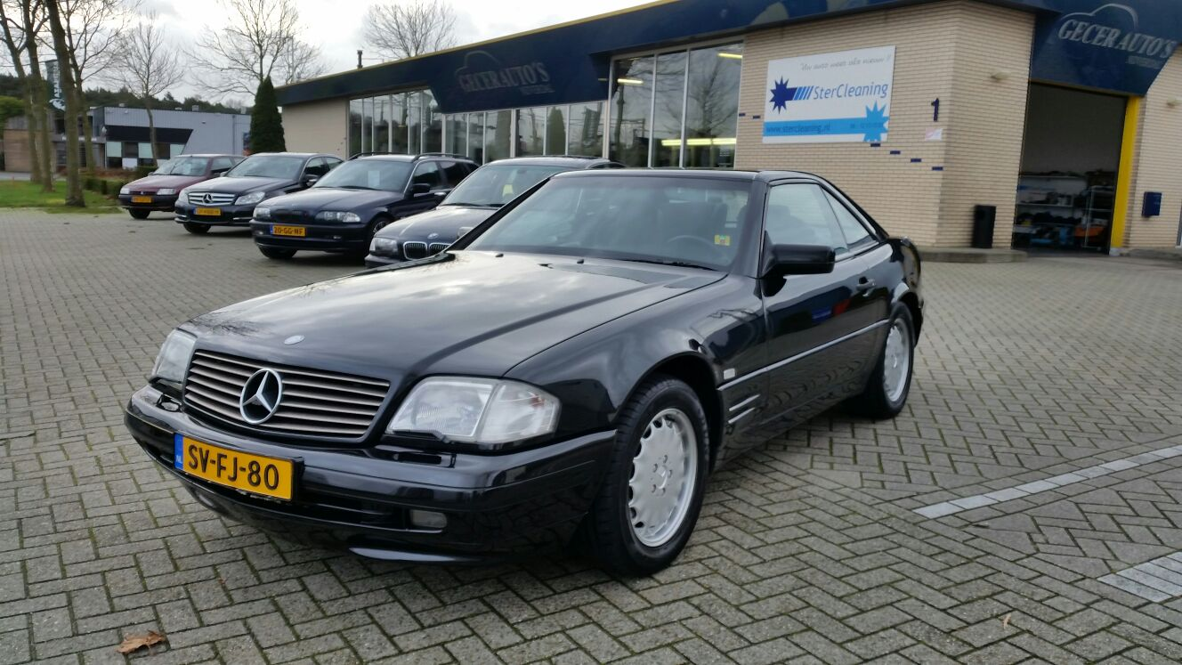 mercedes benz sl 320 cabrio 1998 stercleaning. Black Bedroom Furniture Sets. Home Design Ideas