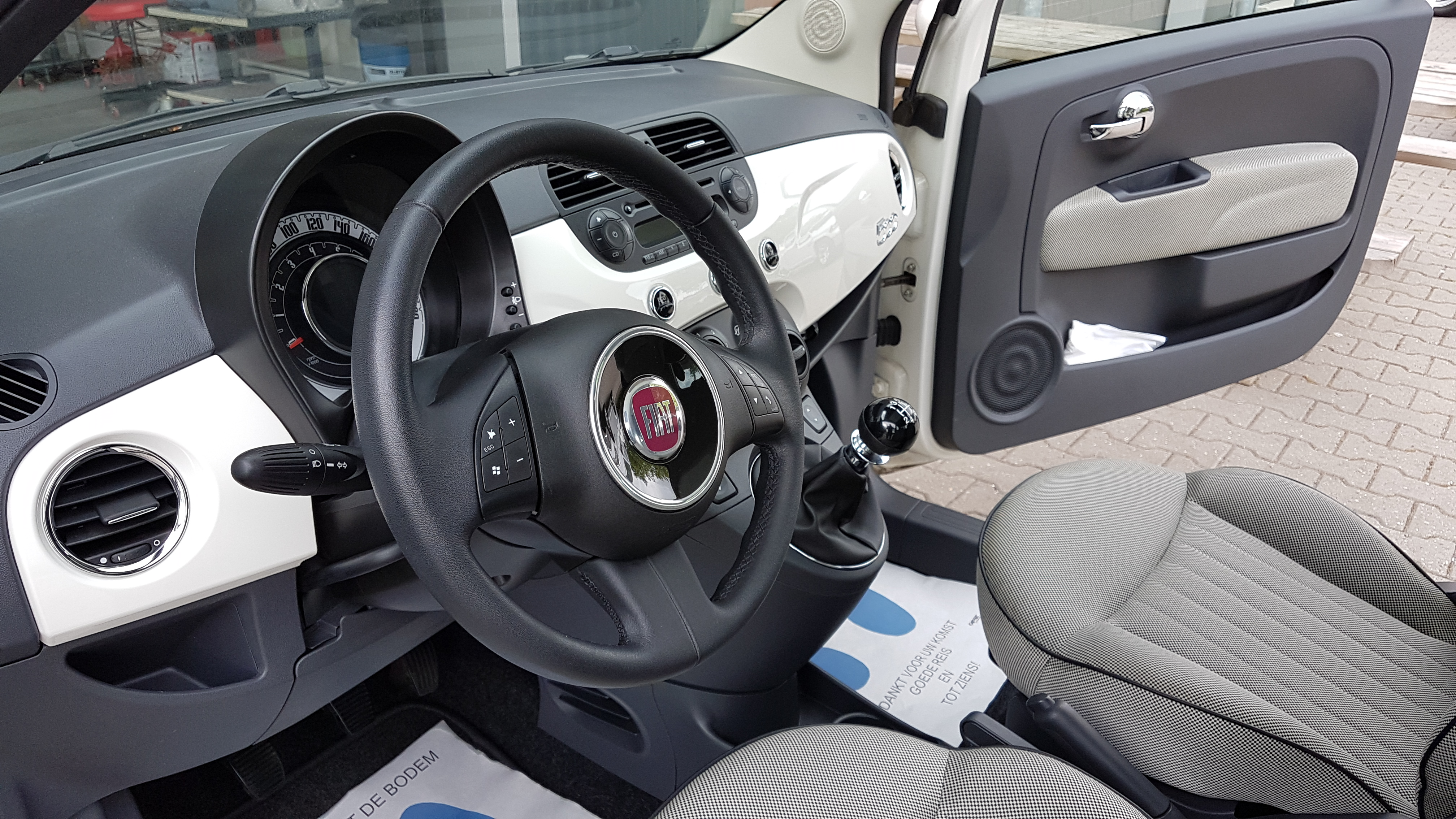Fiat 500 Interieur Cleaning!